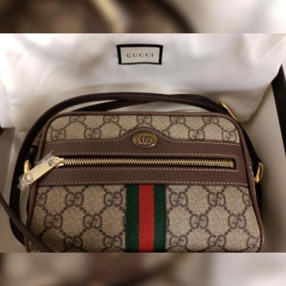 2c6565e69e74 Gucci Bags | Ophidia Crossbody Handbag Gg Supreme Mini | Poshmark